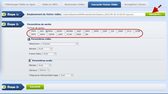 <span>Convertisseur <b class=sec>Video</b> Gratuit - OnlineVideoConverter.com</span>