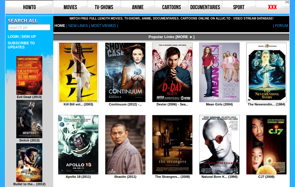Top 10 Movie Sites Top Free Online Movie Sites