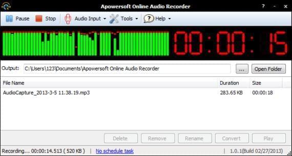 online audio recorder