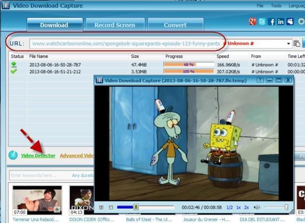 Download spongebob