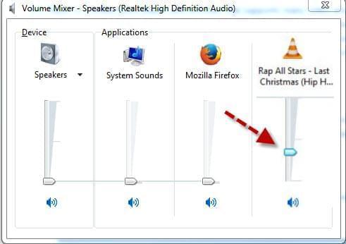 Enable volume mixer