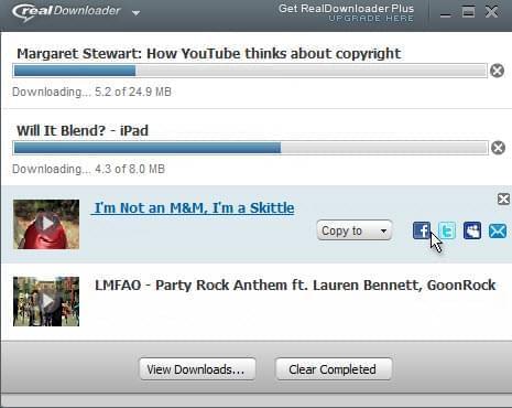 Real downloader download