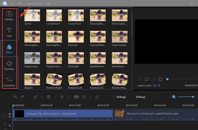 frame by frame edit video